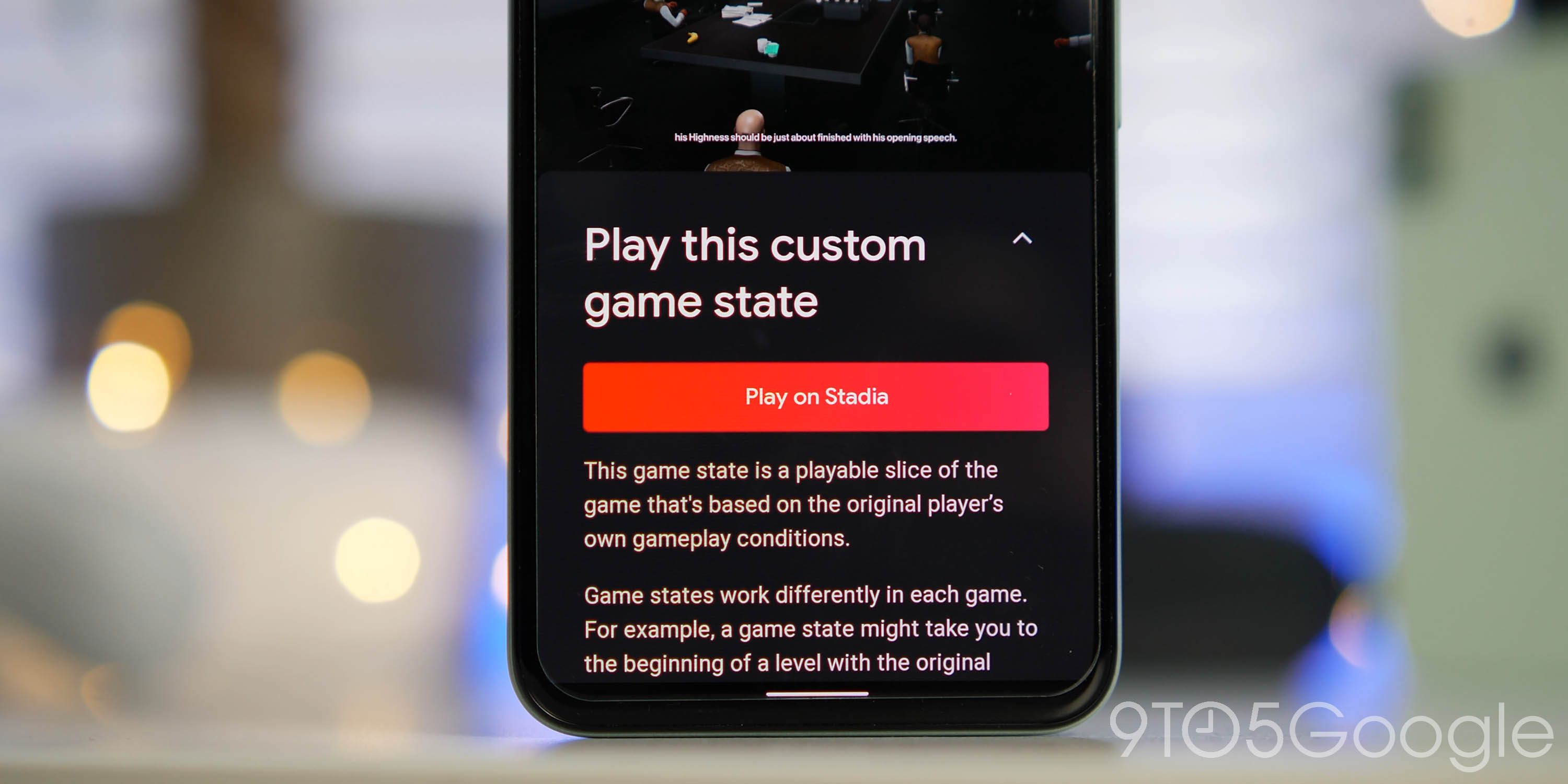 Implemented with State Sharing in Google Stadia [Video]