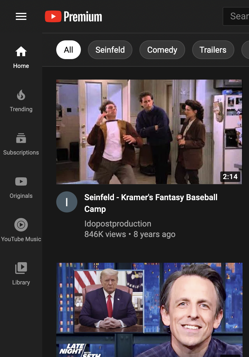 youtube music sidebar 2
