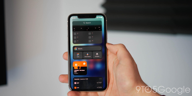 android 12 wish list - ios widget feed