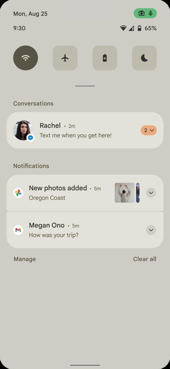 Android 12 design leak