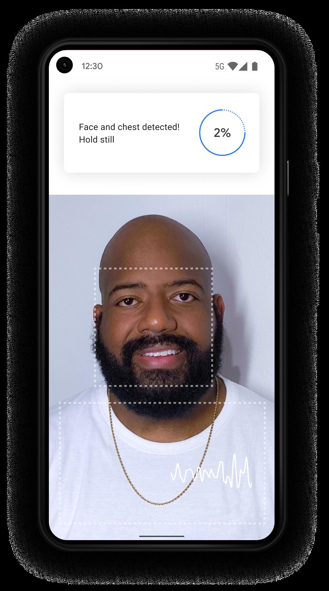 Google Fit measure camera