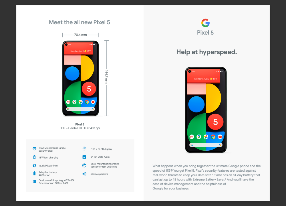 Google Pixel for Business