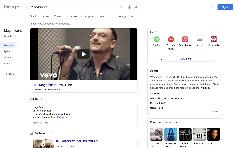 Επανασχεδιασμός μουσικής Αναζήτησης Google