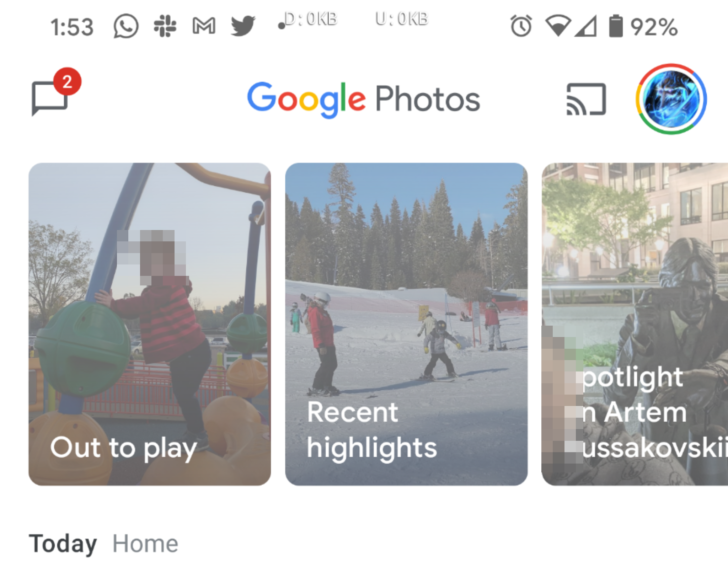 Google Photos Out to play