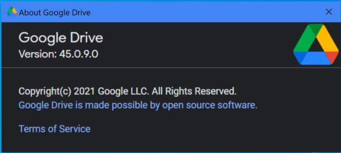 About Google Drive Desktop