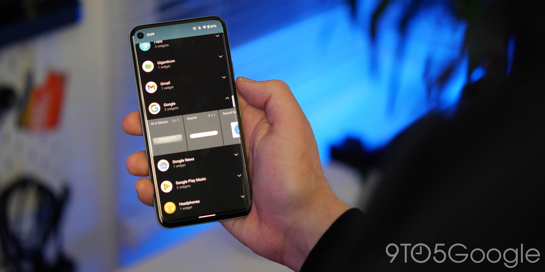 android 12 dp2 widgets