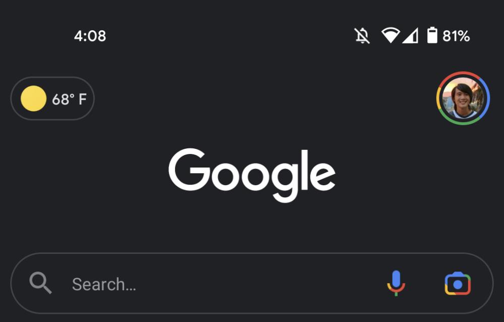 Google Lens camera logo