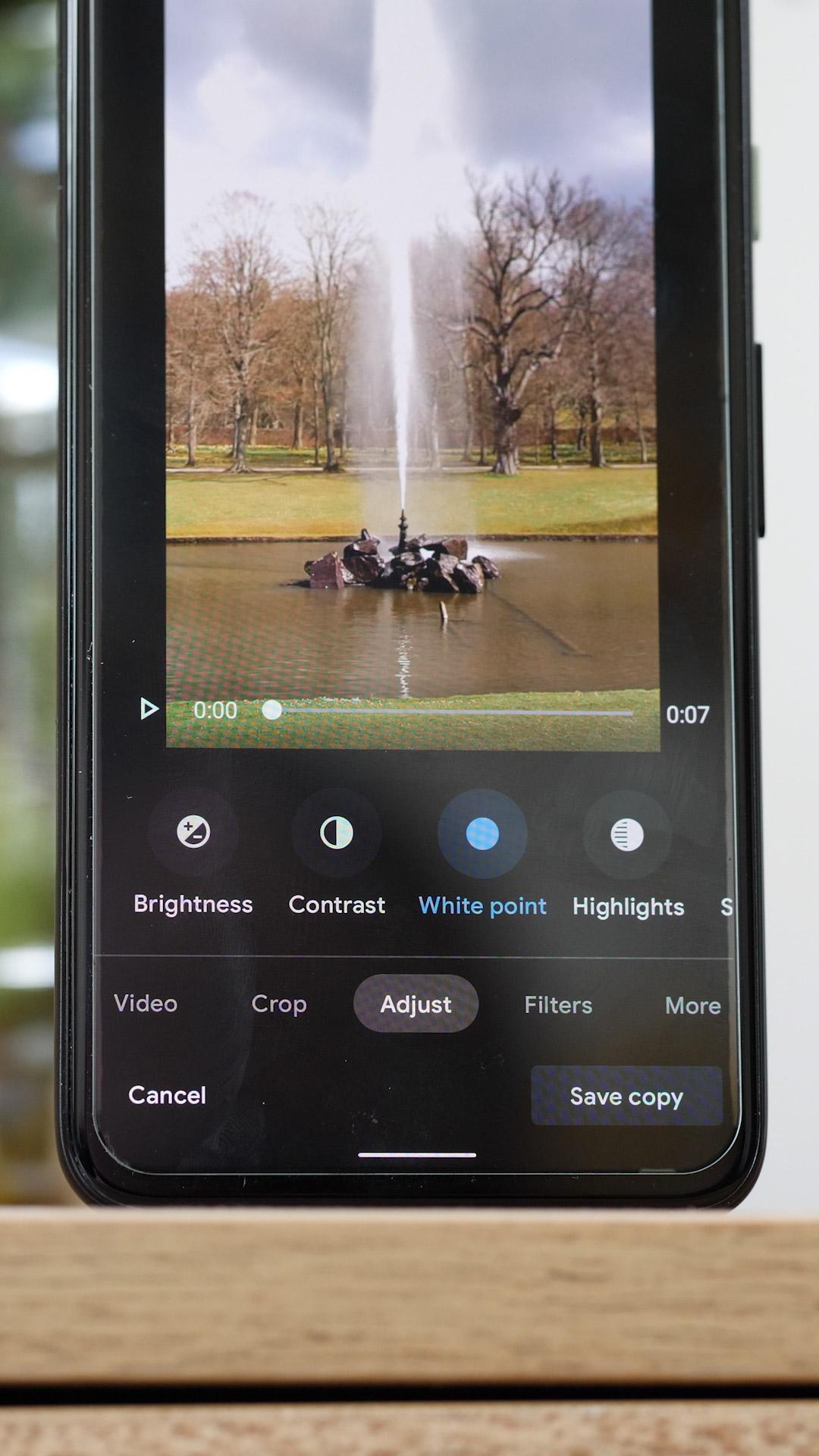 Nuevas herramientas de edición de video para Google Photos 2