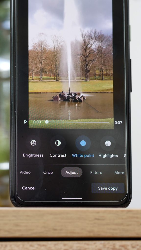 Google Photos new video editing tools 2