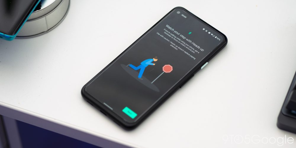 Heads up mode Digital Wellbeing Pixel 4a