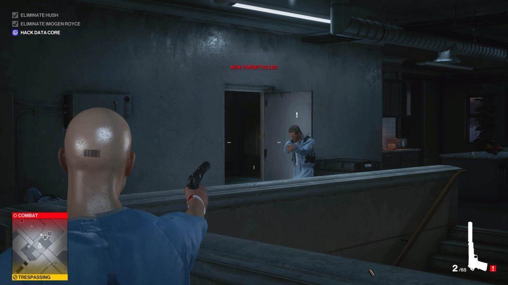 hitman 3 gunplay