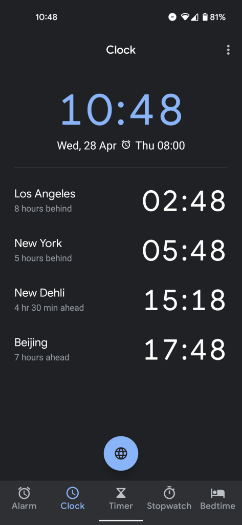 google clock downloads