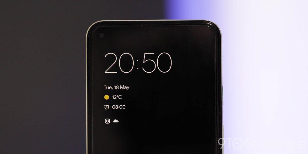Android 12 Beta 1 - lockscreen UI changes