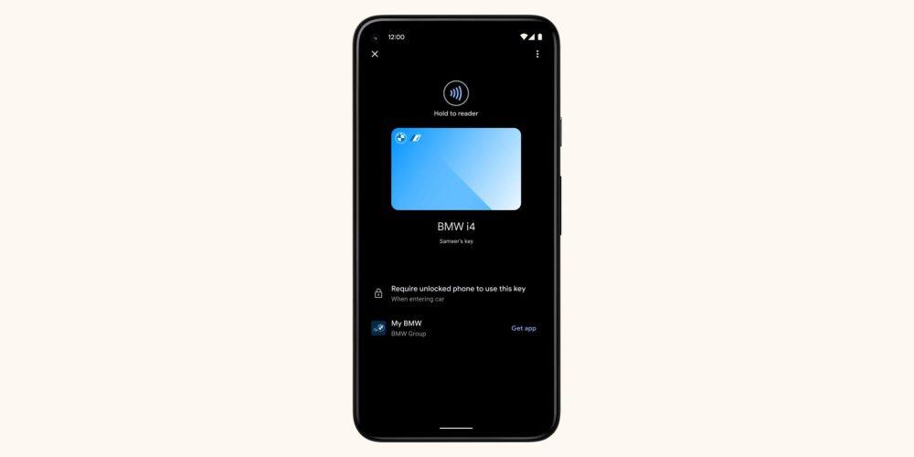 Android 12 digital car key