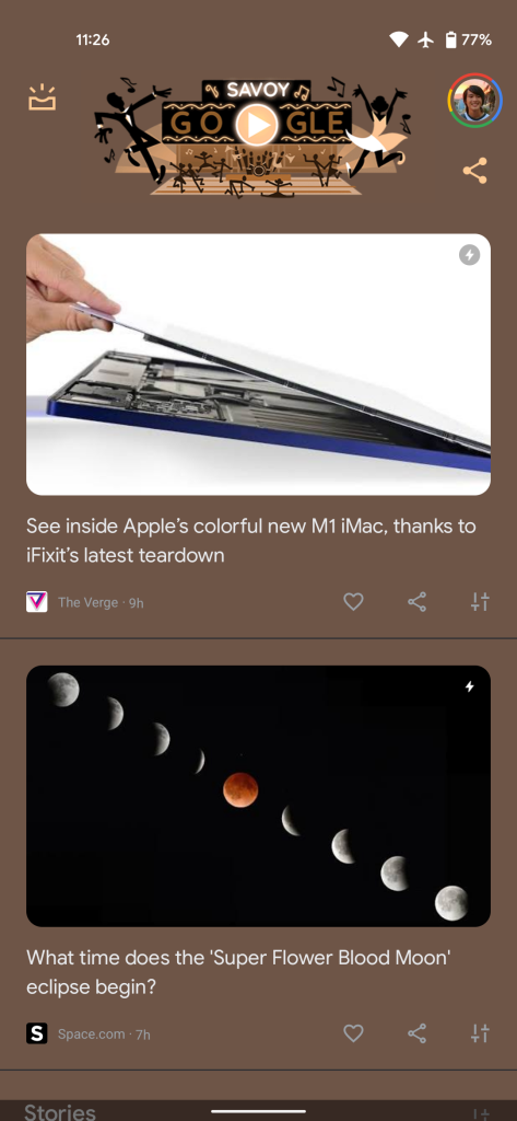 Pixel Discover Material You