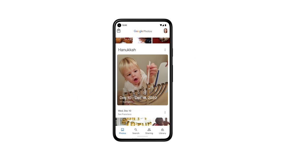 google photos personalized memories