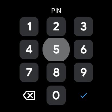 Wear OS PIN Gboard