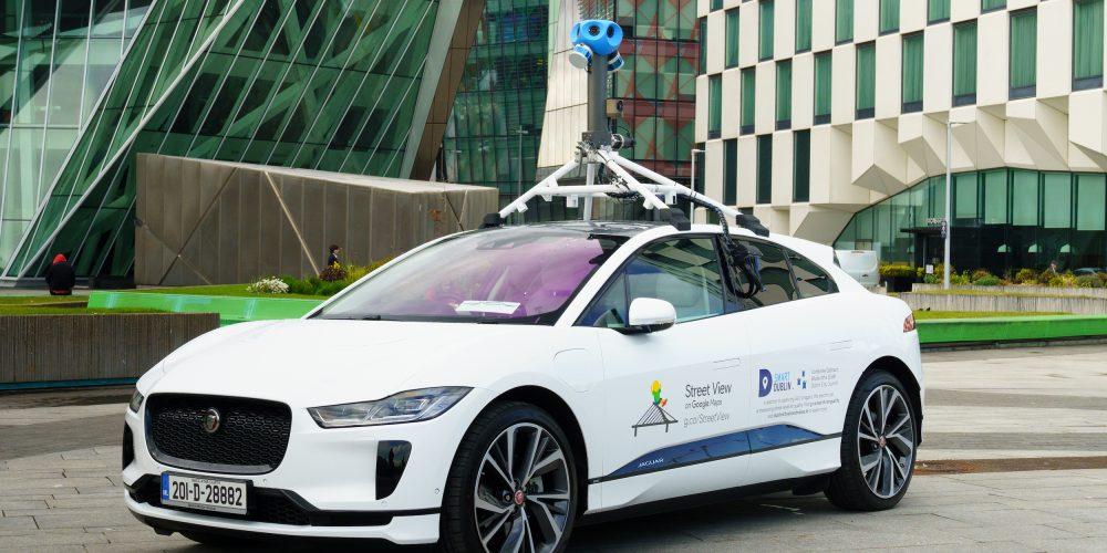 electric Google Street View car