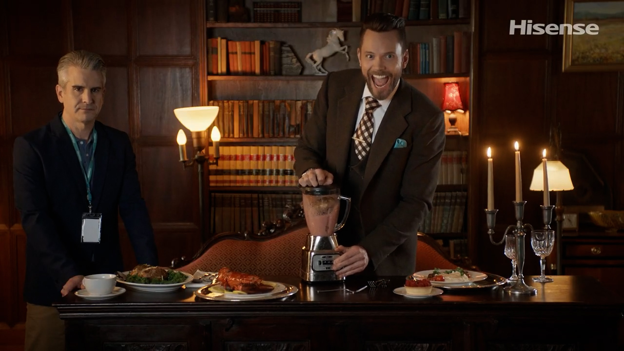 Joel McHale's Hisense announcement is just great comedy - 9to5Google