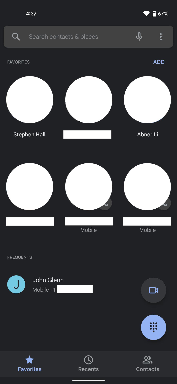 Google Phone Sans Text