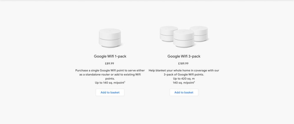 Google Wifi Europe