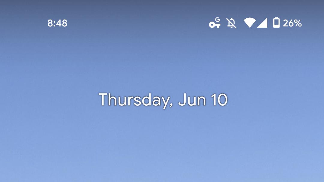 Pixel Launcher Glance Weather
