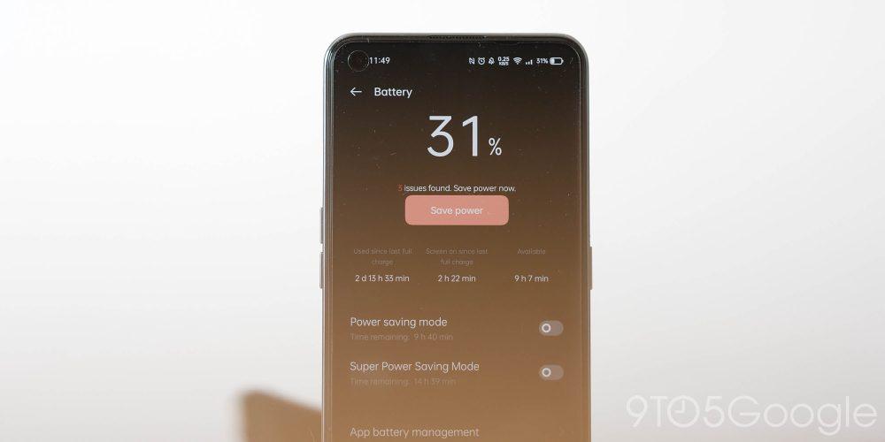 Realme GT - Battery