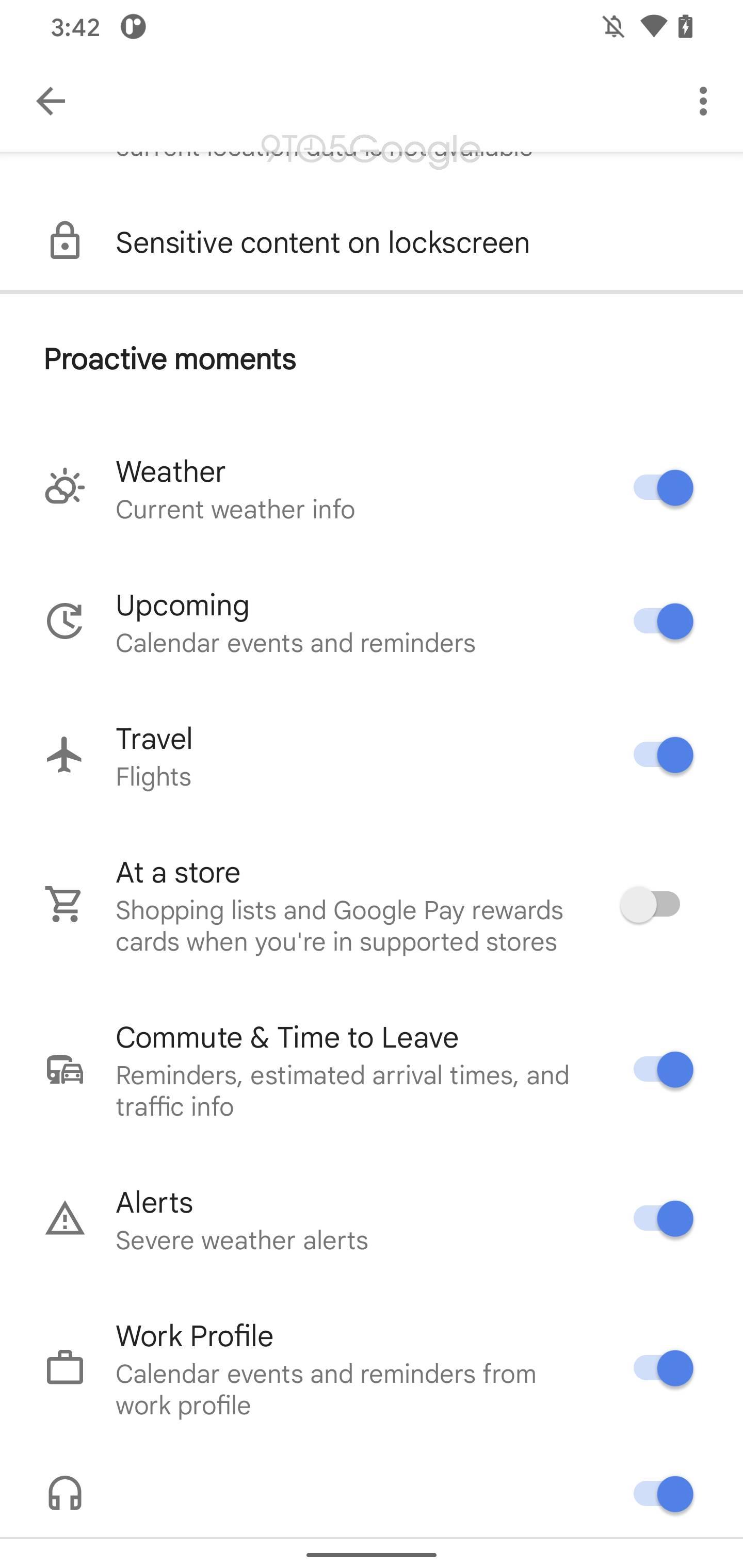 Google Assistant Live Space