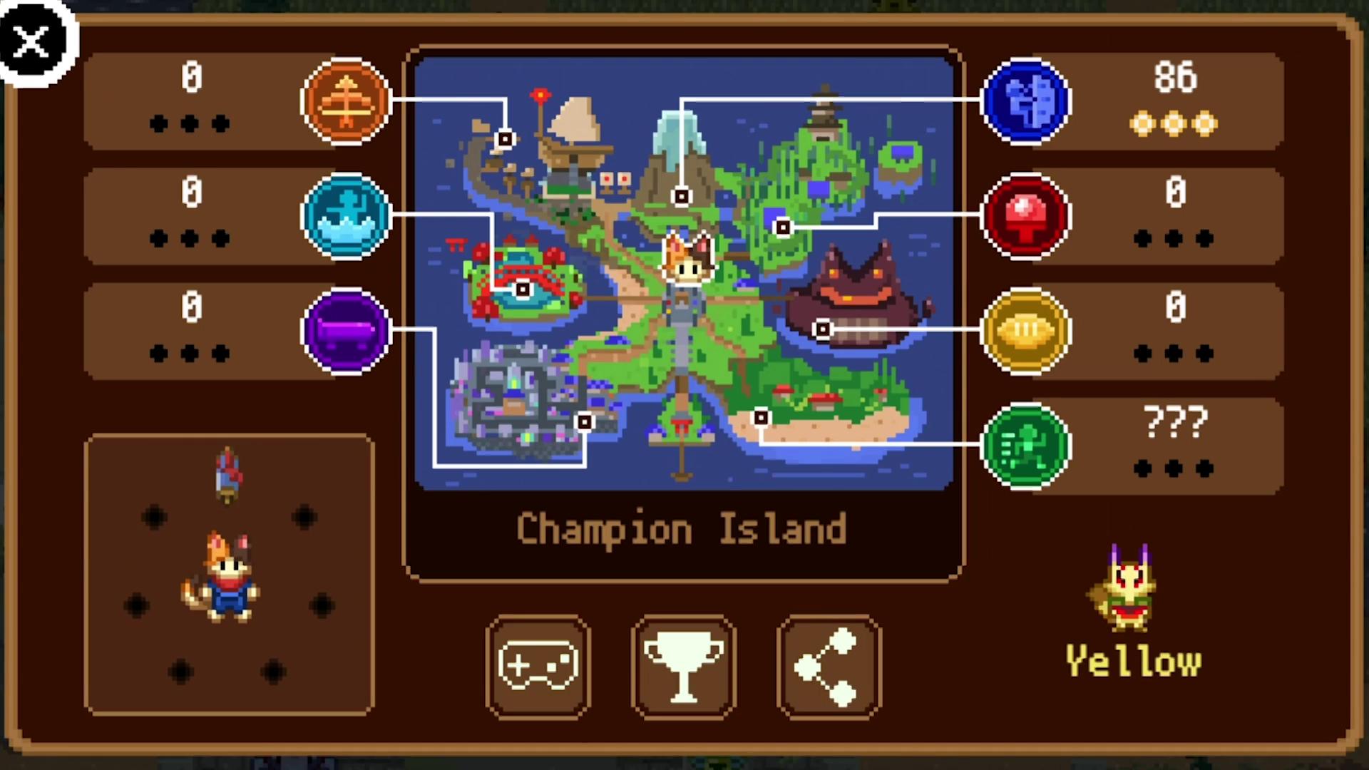 Champion Island Map (Source: 9to5google.com)