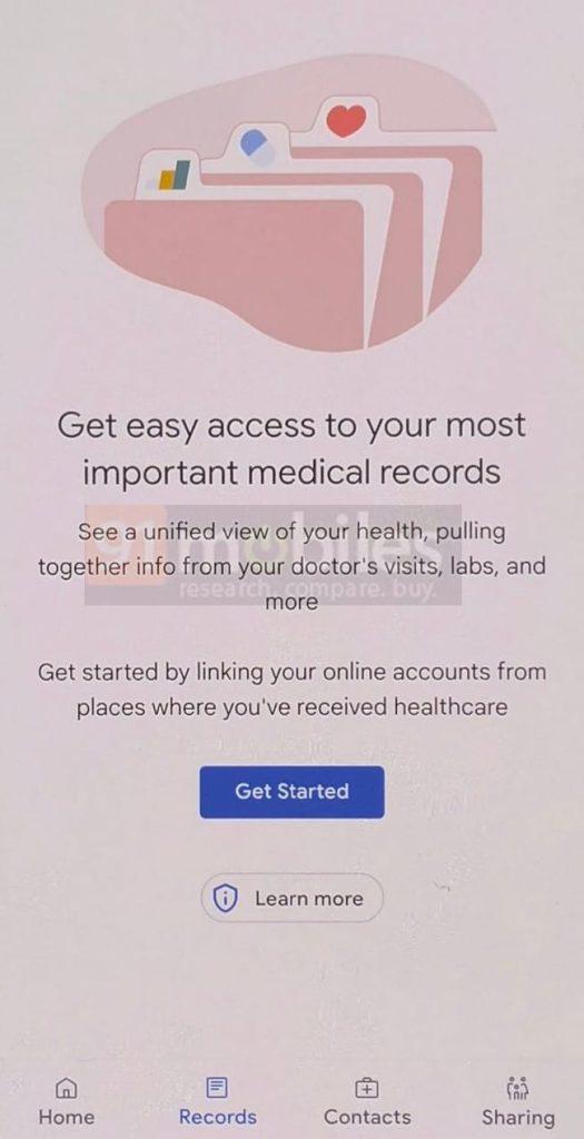 google health app