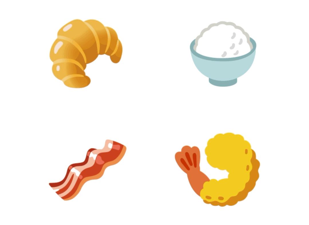 New Google emoji