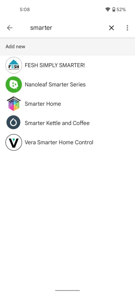 Smarter iKettle Assistant integration in Google Home app