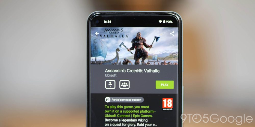 Assassin's Creed Valhalla - Top medieval games on GeForce Now