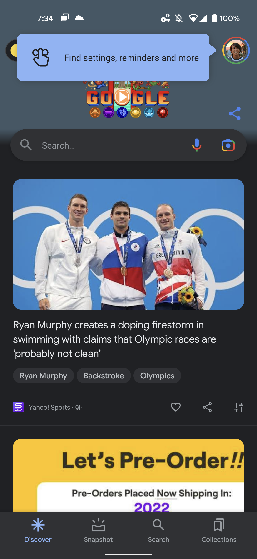 Google app More