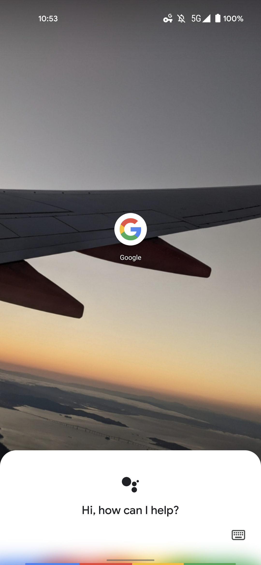 New Google Assistant disappearing