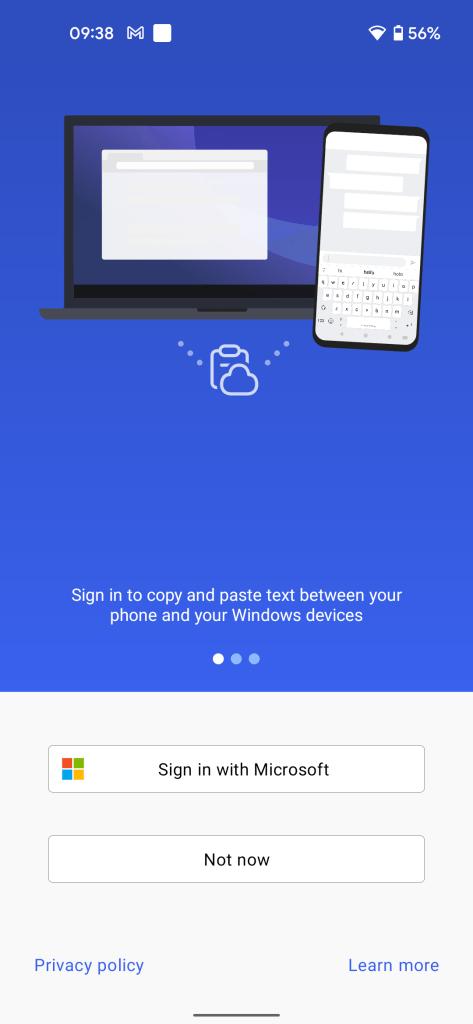 swiftkey windows android clipboard sync