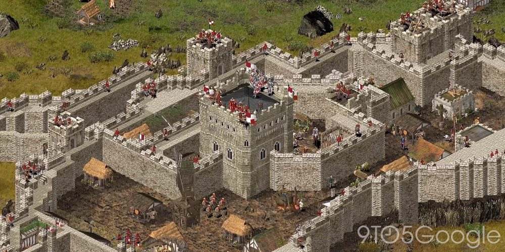 Stronghold HD - Top medieval games on GeForce Now