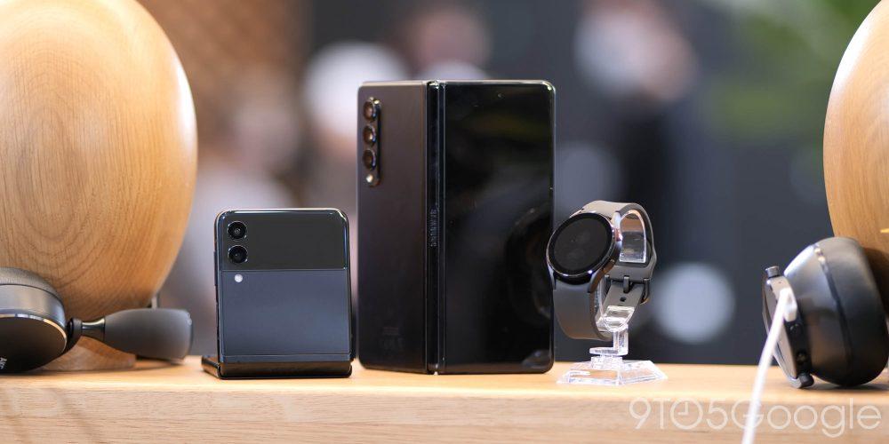 Galaxy Z Flip 3, Z Fold 3, and Galaxy Watch 4
