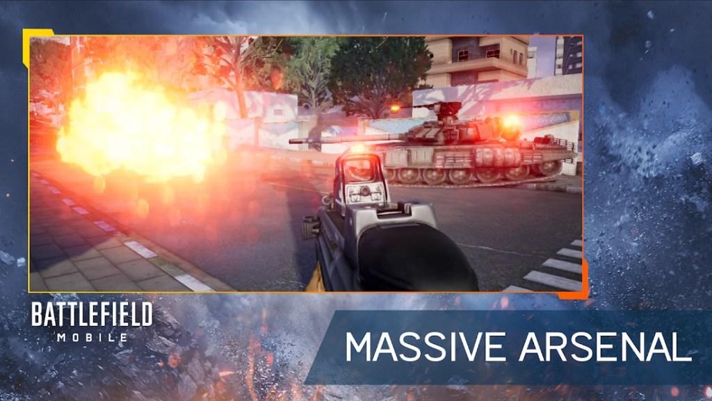 Battlefield Mobile beta gameplay screenshot
