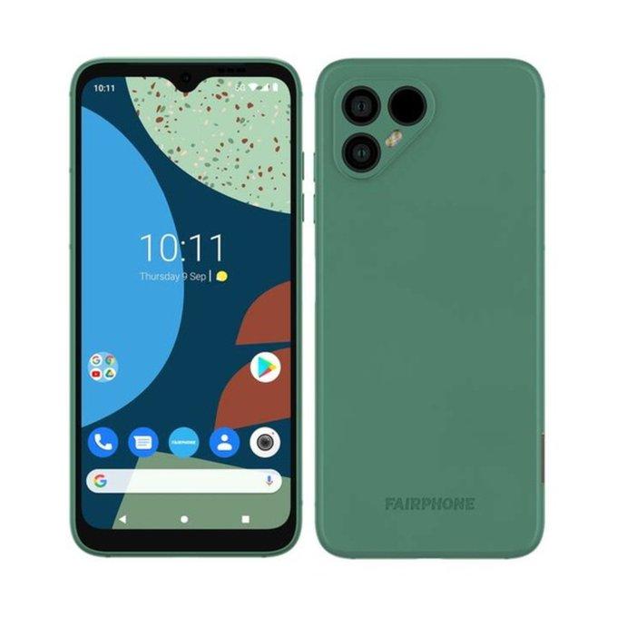fairphone 4 render in green