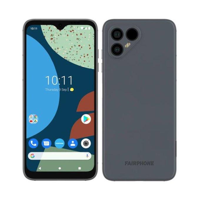 fairphone 4 render in gray