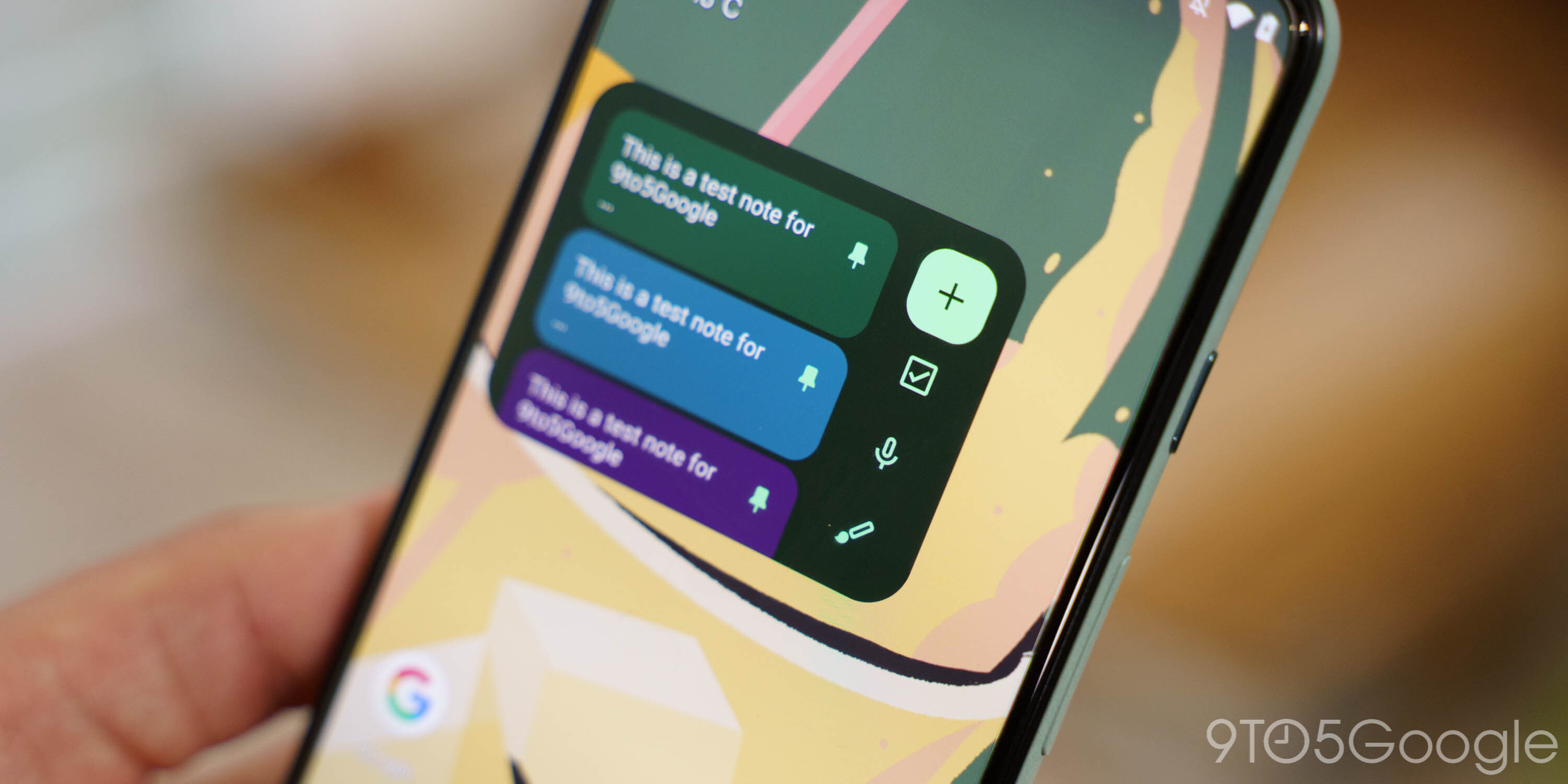 Upcoming Google Keep redesign brings the best Material You widget to date [Gallery]