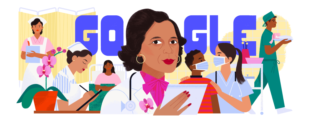 Dr. Ildaura Murillo-Rohde featured in a Google Doodle