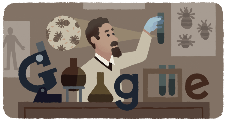Rudolf Weigl Google Doodle
