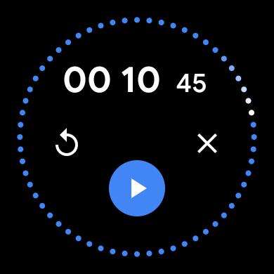 Clock Wear OS Material You